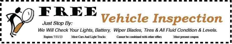 free-vehicle-inspection-july-2013