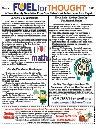 March 2013 Ambassador Auto Repair Newsletter
