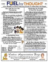 October 2012 Ambassador Auto Repair Newsletter